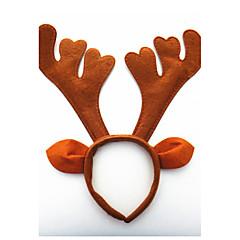 Todos Festa Fantasias Aniversário Adorável Natal Outros Todas as Estações Elástico para Cabelos,Jóias