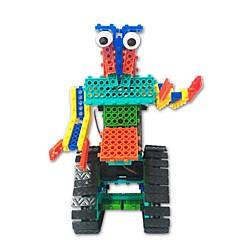 preiswerte -Roboter Spielzeuge Roboter Einfache Fernbedienungskontrolle Bildung Elektrisch Heimwerken Weicher Kunststoff Kinder Geschenk 1pcs