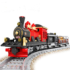 Blocos de Construir Trem Brinquedos Cauda Natureza Morta Veículos Moda Peças