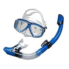 Schnorchelset Wasserfest Schwimmen Tauchen und Schnorcheln Pet für Unisex