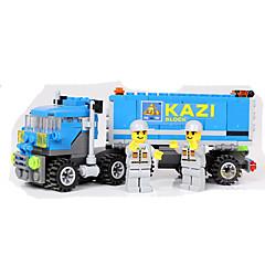 Bausteine Lastwagen Spielzeuge Fahrzeuge Jungen 163 Stücke