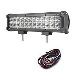 108w 10800lm 6000k 3 soros munka világítás hideg fehér kombinált offroad vezetési fény autó / hajó / fényszóró ip68 9-32v 2m 1-től 1-es