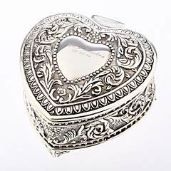 cheap Favor Holders-Heart Creative Tins Favor Holder with Pattern Favor Boxes