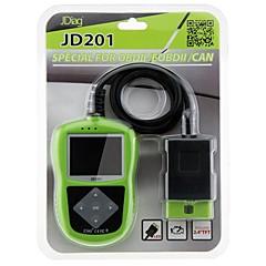 JDiag JDiag JD201 Code Reader With Color Screen for OBDII/EOBD/CAN ダッシュボードforユニバーサル アウディ ロータス ジャガー Mini Sterling スバル アルファロメオ マセラティ いすゞ