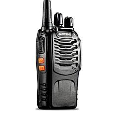 billige Walkie-talkies-Baofeng UHF 400-470MHz 5W TOT VOX bærbar tovejs Radio Walkie Talkie Transceiver samtaleanlegg