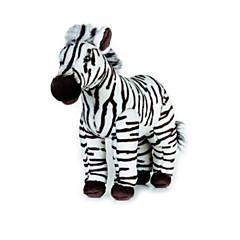 צעצועים ממולאים צעצועים זברה בעלי חיים חתיכות
