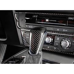 Automobil Fahrzeug Schaltknauf Refit(Karbon)Für Audi 2012 2013 2014 2015 A6