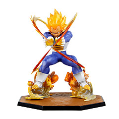 Anime Toimintahahmot Innoittamana Dragon Ball Vegeta PVC 15 CM Malli lelut Doll Toy