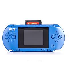 Håndholdt spilkonsol 8 bit 3,0 tommer farveskærm indbygget 400 forskellige spil storskærm bærbar spilkonsol til barn