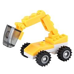 ブロックおもちゃ 油圧ショベル おもちゃ 掘削機械 車 軍隊 Non Toxic クラシック 新デザイン 成人 小品