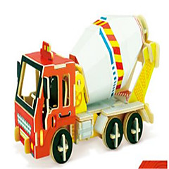 3D Puzzles Construction Vehicle Toys Excavating Machinery Vehicles Kids 1 Pieces