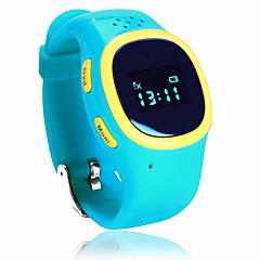 tanie Inteligentne zegarki-Zegarki dziecięce JSBP520 na Android iOS 2G Bluetooth 4.0 GPS Odbieranie bez użycia rąk Krokomierze Informacje SOS Krokomierz / GSM(850/900/1800/1900MHz) / iPhone / Czujnik grawitacji / Żyroskop