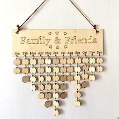 escritório / evento de carreira / festa de casamento de madeira estilo decorações elegante