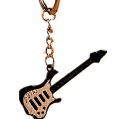 billige Originale moroleker-Nøkkelring Nyhet Musikkinstrumenter Gitar Sinklegering Unisex Gave