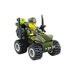 אבני בניין מכונית מרוץ צעצועים מכונית 1 חתיכות