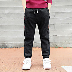 billige Drengebukser-Børn Drenge Trykt mønster Bomuld Bukser