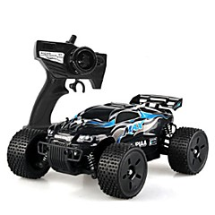 billige Fjernstyrte biler-Radiostyrt Bil HUANQI 543 2.4G Jeep 4WD Høyhastighet Driftbil Off Road Car Monster Truck Bigfoot Bil Buggy (Off- Road) 1:12 Børste