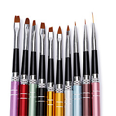Tırnak Fırçalar Nail Art Aracı Nail Salon Makyaj