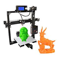 tanie Drukarki 3D-anet a2 druk 3d druk 3d diy aluminium 3d trójwymiarowa dysza tf karta druk off-line wyświetlacz lcd inteligentne drukarki 3d