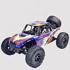 billige Fjernstyrte biler-Radiostyrt Bil JJRC * Jeep 4WD Høyhastighet Driftbil Off Road Car Monster Truck Bigfoot Buggy (Off- Road) 1:10 Børste Elektrisk * KM / H