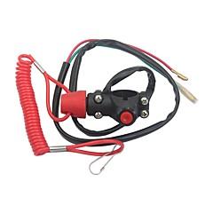 abordables -Tuer interrupteur bouton arrêt d'urgence arrêt d'urgence bouton poussoir dirt bike