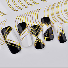 baratos -1 Adesivos para Manicure Artística maquiagem Cosméticos Designs para Manicure