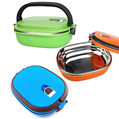 cheap Kitchen Storage-Kitchen Organization Lunch Box Stainless Steel Easy to Use 1pc