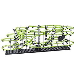 Level 5 233-5 30M 조립식 블럭 장난감 자동차 대리석 트랙 세트 빌딩 키트 코스터 장난감 이렉터 세트 야광 DIY 소프트 플라스틱 메탈 선물 액션 & 장난감 피규어 액션 게임