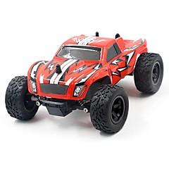 billige Fjernstyrte biler-Radiostyrt Bil K24-2 2.4G Jeep 4WD Høyhastighet Driftbil Racerbil Monster Truck Bigfoot Truggy Buggy (Off- Road) 1:24 Børste Elektrisk 45