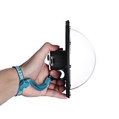 tanie Akcesoria do GoPro-Wkładka przeciwmgielna Waterproof Osłona obiektywu kamery Obuwie turystyczne profesjonalnym poziomie Obudowa wodoodporna Mgłę Dla Action