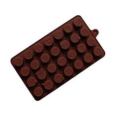 billige Bakeredskap-Bakeware verktøy silica Gel Multifunksjon / Non-Stick Sjokolade Cake Moulds 1pc