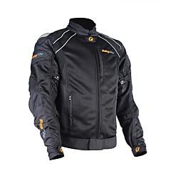 メンズオートバイ保護ジャケットチタンオートバイ乗り物用フロントガラス夏用プロテクターモータースポーツ用ギア
