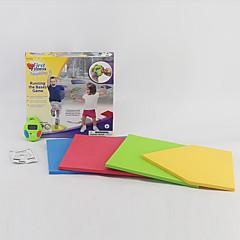 tanie Zabawa na dworze i sport-Zabawki fitness Krokomierz Zarząd budowy ciała Zabawki Kwadrat Sport Kolorowy Klasyczny Miękkiego tworzywa Dla dzieci Prezent 1pcs