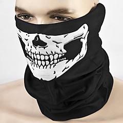 tanie Kaski i maski-ziqiao motocykl czaszka maska zewnętrzna sport rowerowa rower rowerowy motocykl maska
