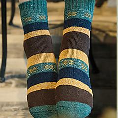 billige Moteundertøy-Dame Sokker-Stripet Ultravarm