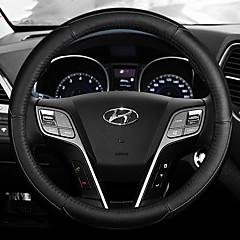 billige Rattovertrekk til bilen-Rattovertrekk til bilen Lær 38 cm Blå / Hvit / Rød For Hyundai Elantra Alle år
