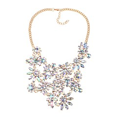cheap Necklaces-Women's Irregular Classic Fashion Elegant Statement Jewelry Pendant Necklace Crystal Crystal Alloy Pendant Necklace , Party Ceremony
