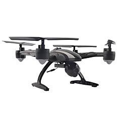 billige Fjernstyrte quadcoptere og multirotorer-RC Drone JINXINGDA 509G 6 Akse 2.4G Med 0.3MP HD-kamera Fjernstyrt quadkopter FPV En Tast For Retur Hodeløs Modus FPV Monitor Fjernstyrt