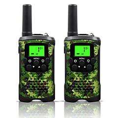 billige Walkie-talkies-48 462 Håndholdt Programmeringskabel / Strømsparefunksjon / VOX 5-10 km 5-10 km 22 0.5 W Walkie Talkie Toveis radio