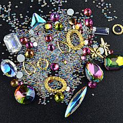 네일 보석 모조 다이아몬드 네일 컬러 아트 모듬