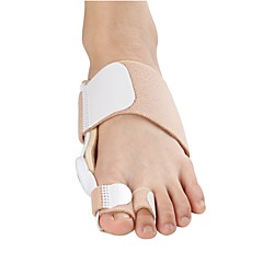 Orthotic Toe Separators & Bunion Pad Insole & Inserts Gel Sole Winter Spring White Beige