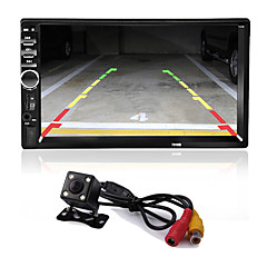 cheap -2 Din 7'' Inch LCD Touch Screen Car Radio Player Support Multiple Languages Menu Bluetooth Rear View Camera Car Audio Autoradio