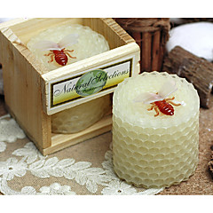 cheap Candle Favors-Garden Theme Classic Theme Fairytale Theme Candle Favors - 1 Wax Gift Box