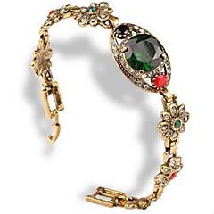 Damen Armband Strass Klassisch Modisch Diamantimitate Aleación Geometrische Form Schmuck Alltag