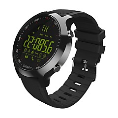 EX18 Smartwatch Android iOS Bluetooth Sports Waterproof Calories Burned Pedometers Stopwatch Pedometer Call Reminder Remote Control Fitness Tracker / Sleep Tracker / Alarm Clock / Gravity Sensor