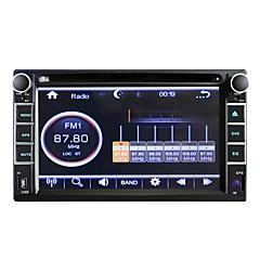 tanie -6,2-calowy uniwersalny wysokiej rozdzielczości tekstury samochodu odtwarzacz nawigacji DVD odtwarzacz samochodowy audio i wideo nawigacja