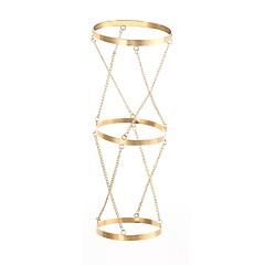 baratos Bijoux de Corps-Cadeia braço Coreano, Importante Mulheres Dourado Bijuteria de Corpo Para Para Noite