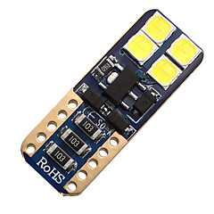 abordables Luces de Coche-SO.K 4pcs Bombillas 3W SMD 3030 / SMD 3014 8 Luces interiores For Universal Todos los Años