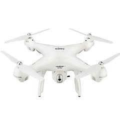 billige Fjernstyrte quadcoptere og multirotorer-RC Drone JXD HY70White 4 Kanaler 6 Akse 2.4G Med 720 P HD-kamera Fjernstyrt quadkopter Høyde Holding WIFI FPV En Tast For Retur Etter Mode