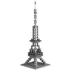 voordelige -Bouwblokken / LOZ Diamond Blocks 280pcs Architectuur / Beroemd gebouw DHZ / Non Toxic Geschenk